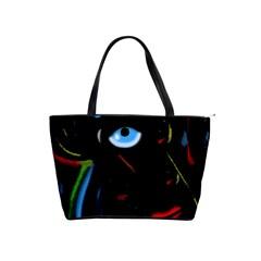 Black magic woman Shoulder Handbags