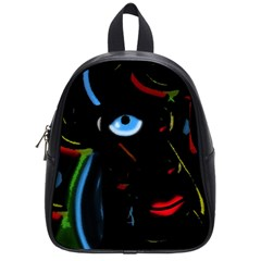 Black magic woman School Bags (Small)