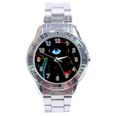 Black magic woman Stainless Steel Analogue Watch