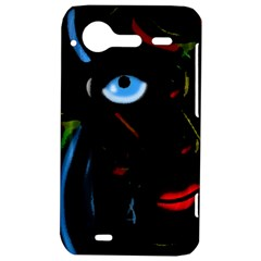 Black magic woman HTC Incredible S Hardshell Case