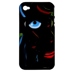 Black magic woman Apple iPhone 4/4S Hardshell Case (PC+Silicone)