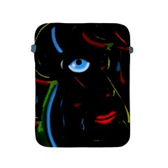 Black magic woman Apple iPad 2/3/4 Protective Soft Cases