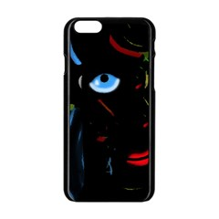 Black magic woman Apple iPhone 6/6S Black Enamel Case