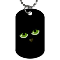 Halloween - back cat Dog Tag (Two Sides)