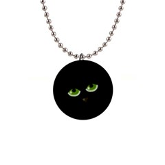 Halloween - back cat Button Necklaces