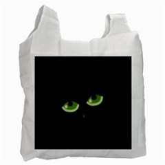Halloween - back cat Recycle Bag (One Side)