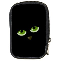 Halloween - back cat Compact Camera Cases
