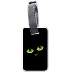 Halloween - back cat Luggage Tags (One Side)