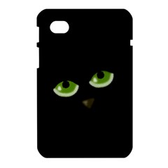 Halloween - back cat Samsung Galaxy Tab 7  P1000 Hardshell Case