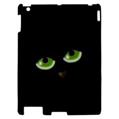 Halloween - back cat Apple iPad 2 Hardshell Case