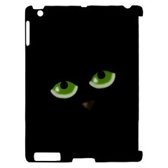 Halloween - back cat Apple iPad 2 Hardshell Case (Compatible with Smart Cover)