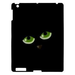 Halloween - back cat Apple iPad 3/4 Hardshell Case