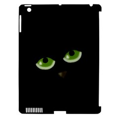 Halloween - back cat Apple iPad 3/4 Hardshell Case (Compatible with Smart Cover)