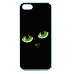 Halloween - back cat Apple Seamless iPhone 5 Case (Color)