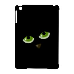 Halloween - back cat Apple iPad Mini Hardshell Case (Compatible with Smart Cover)