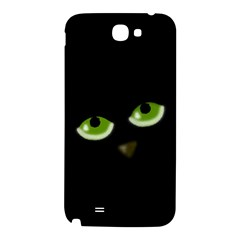 Halloween - back cat Samsung Note 2 N7100 Hardshell Back Case