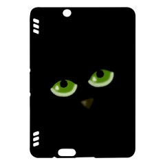 Halloween - back cat Kindle Fire HDX Hardshell Case