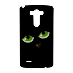Halloween - back cat LG G3 Hardshell Case