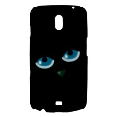 Halloween - black cat - blue eyes Samsung Galaxy Nexus i9250 Hardshell Case
