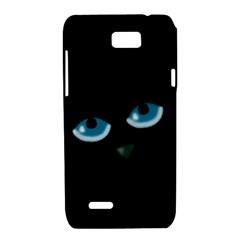 Halloween - black cat - blue eyes Motorola XT788