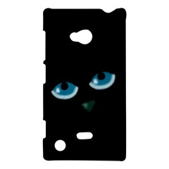 Halloween - black cat - blue eyes Nokia Lumia 720