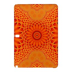 Lotus Fractal Flower Orange Yellow Samsung Galaxy Tab Pro 10 1 Hardshell Case