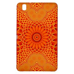Lotus Fractal Flower Orange Yellow Samsung Galaxy Tab Pro 8 4 Hardshell Case