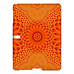 Lotus Fractal Flower Orange Yellow Samsung Galaxy Tab S (10 5 ) Hardshell Case