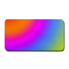 Radial Gradients Red Orange Pink Blue Green Medium Bar Mats