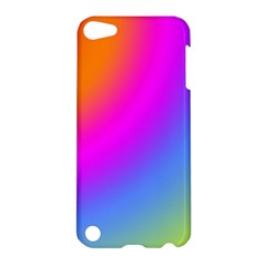 Radial Gradients Red Orange Pink Blue Green Apple Ipod Touch 5 Hardshell Case