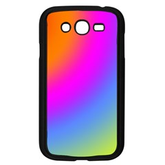 Radial Gradients Red Orange Pink Blue Green Samsung Galaxy Grand Duos I9082 Case (black)