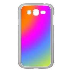 Radial Gradients Red Orange Pink Blue Green Samsung Galaxy Grand Duos I9082 Case (white)