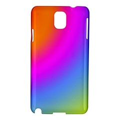 Radial Gradients Red Orange Pink Blue Green Samsung Galaxy Note 3 N9005 Hardshell Case