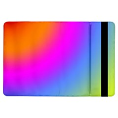 Radial Gradients Red Orange Pink Blue Green Ipad Air Flip