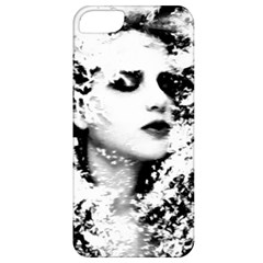 Romantic Dreaming Girl Grunge Black White Apple Iphone 5 Classic Hardshell Case