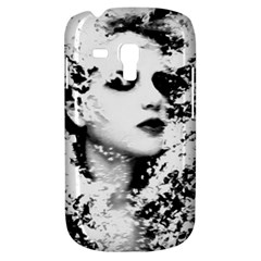 Romantic Dreaming Girl Grunge Black White Samsung Galaxy S3 Mini I8190 Hardshell Case