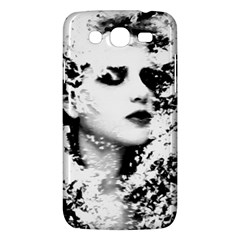 Romantic Dreaming Girl Grunge Black White Samsung Galaxy Mega 5 8 I9152 Hardshell Case