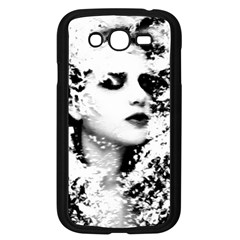 Romantic Dreaming Girl Grunge Black White Samsung Galaxy Grand Duos I9082 Case (black)