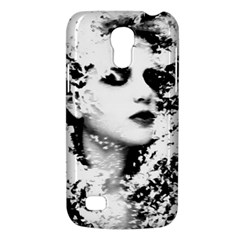 Romantic Dreaming Girl Grunge Black White Galaxy S4 Mini