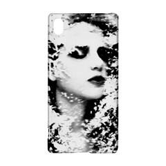Romantic Dreaming Girl Grunge Black White Sony Xperia Z3+