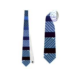 Abric Texture Alternate Direction Neckties (two Side)
