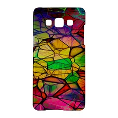Abstract Squares Triangle Polygon Samsung Galaxy A5 Hardshell Case