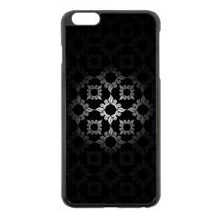 Antique Backdrop Background Baroque Apple Iphone 6 Plus/6s Plus Black Enamel Case