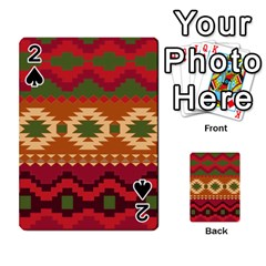 Background Plot Fashion Playing Cards 54 Designs