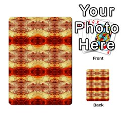 Fabric Design Pattern Color Multi Purpose Cards (rectangle)