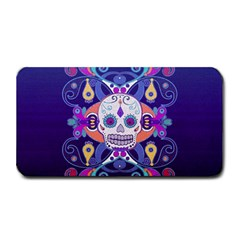 Día De Los Muertos Skull Ornaments Multicolored Medium Bar Mats