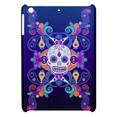 Día De Los Muertos Skull Ornaments Multicolored Apple Ipad Mini Hardshell Case