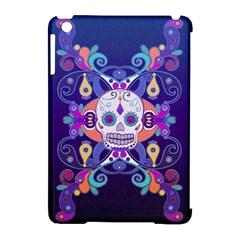 Día De Los Muertos Skull Ornaments Multicolored Apple Ipad Mini Hardshell Case (compatible With Smart Cover)