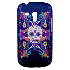 Día De Los Muertos Skull Ornaments Multicolored Samsung Galaxy S3 Mini I8190 Hardshell Case