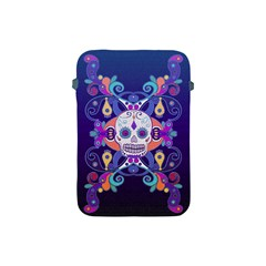 Día De Los Muertos Skull Ornaments Multicolored Apple Ipad Mini Protective Soft Cases